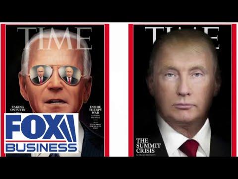 Media bias? Look at how Time Magazine portrayed Biden vs. Trump