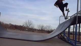Adrian Parcel Skateboarding In Wichita, Kansas Area