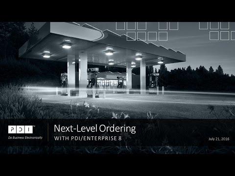 Webinar: Next-Level Ordering with PDI/Enterprise 8