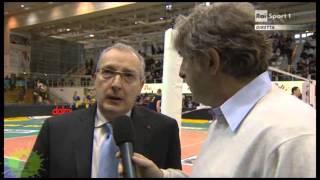 17-02-2013: Intervista Rai prepartita a Flavio Gulinelli in Trento-NewMater