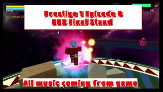 Prestiging Dragon Ball Z Final Stand (ROBLOX)