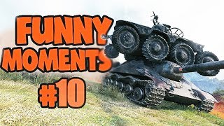 Wot Funny Moments #10 World of Tanks FAILS & WINS