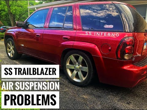How to fix your AIR SUSPENSION for a TRAILBLAZER SS - YouTube