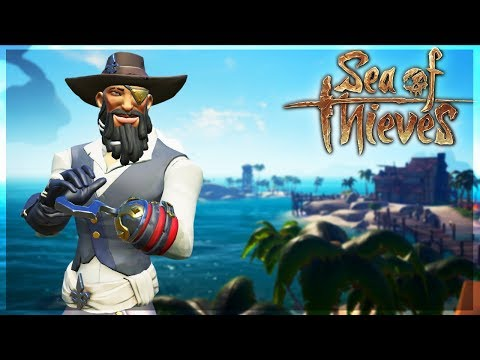 (VOD)GRINDING Merchant Voyages & Dealing with Event Campers - Sea of Thieves