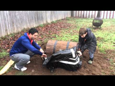 Thumbnail: Father and son dig up treasure box in search of Christmas presents!