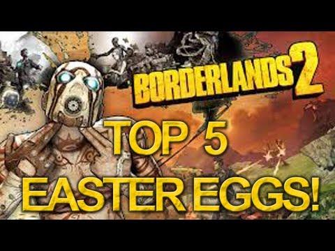 Borderlands 2 Top 5 Easter Eggs!