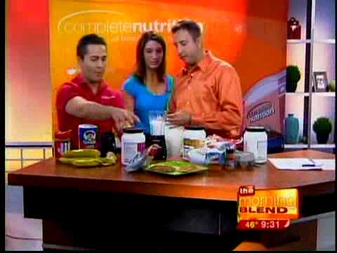 Complete Nutrition visits Omaha's Morning Blend