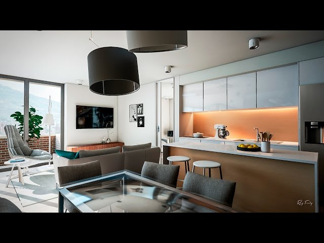 Unreal Engine 4 - Apartment Interior - Archviz