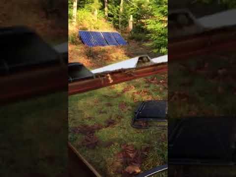 Solar powered Piston Pump