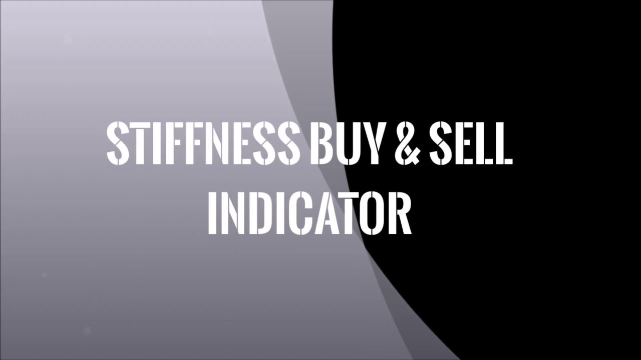 Stiffness Buy & Sell Indicator for MT4 & MT5