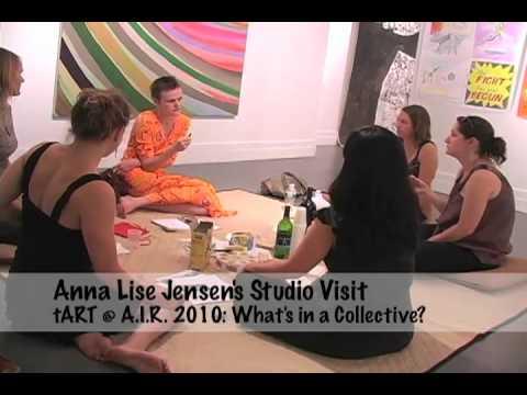 Anna Lise Jensen's tART @ A.I.R. Studio Visit