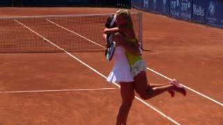Doubles champions! Ema Burgic Bucko and Georgina Garcia Perez