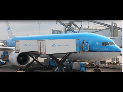 KLM Flight Report : KL427 Amsterdam AMS to Dubai DXB Boeing 777-200ER 1080p HD SamyTravels