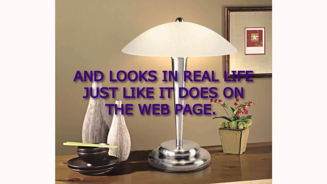 Deco Dome Touch Lamp - Table Lamp - bedroom table lamps - YouTube