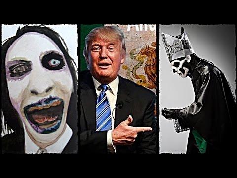 DESTROZANDO A TRUMP #2: GHOST, Marilyn Manson, Metallica, BVB, Brujeria