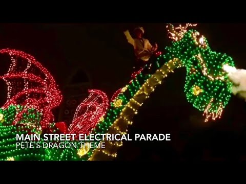 Main Street Electrical Parade - Pete's Dragon Theme