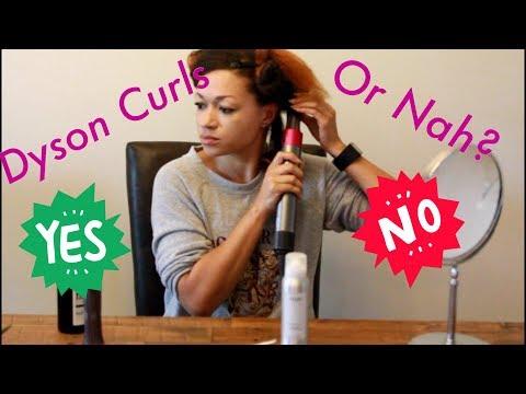 Dyson Airwrap Natural Hair FAQ and Pt. 2 - Curling Barrel Demo and Wear Test FAIL