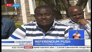 Opposition MPs push for a referendum
