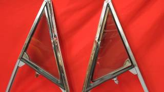 1964 1965 GTO Vent Window Frame Glass