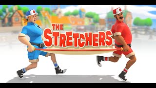 Let's Play The Stretchers co-op feat Kim - Nintendo Switch