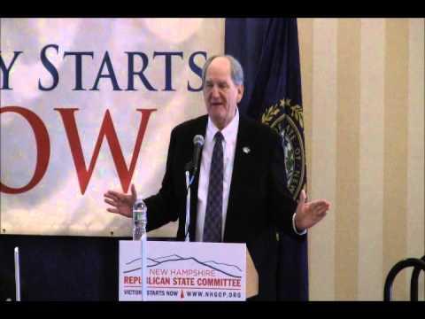 NH GOP Annual Meeting 2014 US Senator Bob Smith