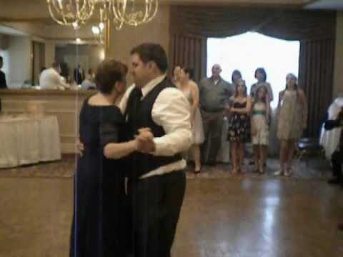 Andrea's & Peter's Wedding-Mother son dance