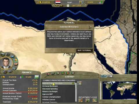 Let's Play Supreme Ruler 2020 - Tutorial 1  