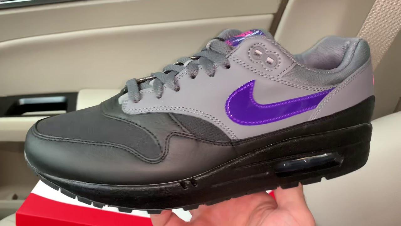 Nike Air Max 1 Fierce Purple shoes