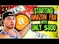 CAN YOU START AMAZON FBA WITH ONLY $800!? HOW I Launched An Amazon Product With Under $800