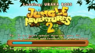 jungle adventures 2 world 1 level 5 uraka boss xmas edition gameplay free game on android