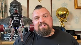 Eddie Hall's thoughts on Hafthor's 501kg deadlift