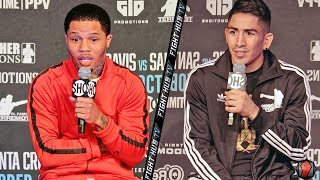 GERVONTA DAVIS VS LEO SANTA CRUZ | FULL PRESS CONFERENCE & FACE OFF VIDEO