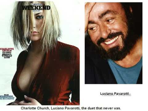 Charlotte Church Luciano Pavarotti The Duet that never was  O Holy Night
