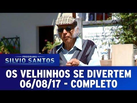 Os Velhinhos se Divertem | Câmeras Escondidas (06/08/17)