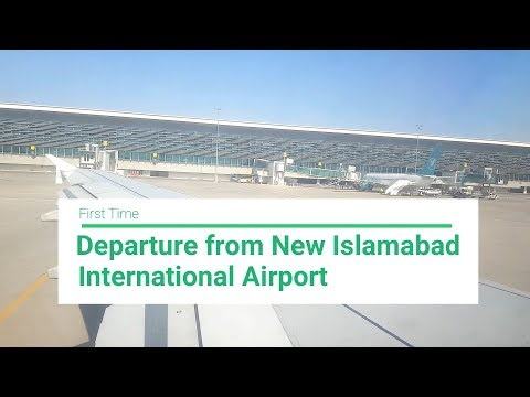 Departure from New Islamabad International Airport