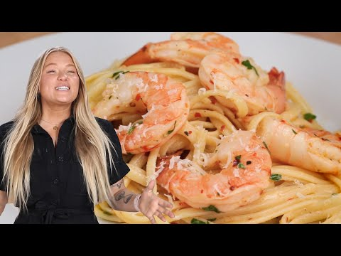 How To Make Alix's 3-Course Shrimp Scampi Dinner • Tasty