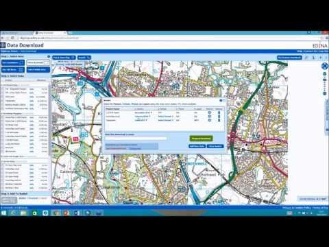 Digimap data in ArcGIS Feb16