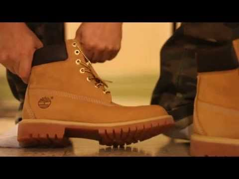 """Tims on Feet Look 6"""" Wheat Timberland Boots 