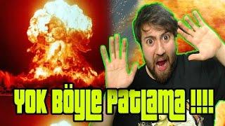 Dünyanın En Büyük Patlamasından Kaçmak !!! - Minecraft Efsane Patlama Modu