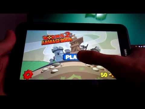 Обзор Worms 2: Armageddon на Android.Возвращение легенды!