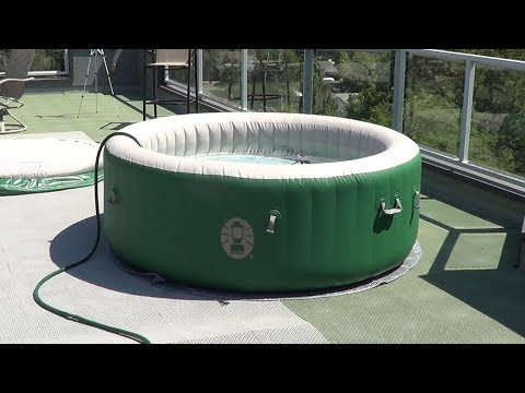 How To Set Up A Hot Tub On Your Roof