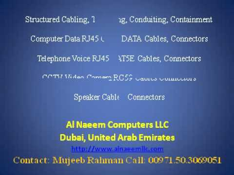 Structured Cabling LV Systems Dubai UAE