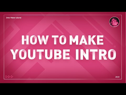 How to make YouTube Intro on PHONE Full tutorial (Free APP for iOS & Android)