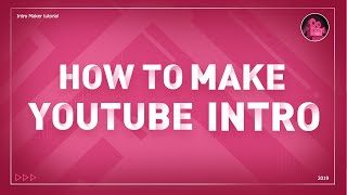 3 Steps to make awesome intro with INTRO MAKER on your PHONE (iOS&Android)