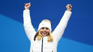 Ester Ledecka was born in the Czech Republic and her Olympic team named it the Miracle in the Snow