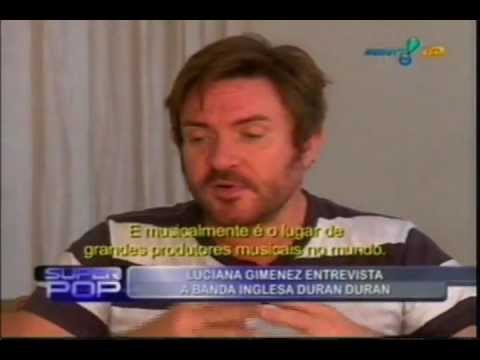 Duran Duran | Interview with Luciana Gimenez at Superpop (Brazilian TV Show)