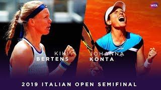 Kiki Bertens niet naar finale WTA Rome na marathonpartij