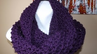 Repeat youtube video Crochet bufanda circular o tubular bien facil - with Ruby Stedman