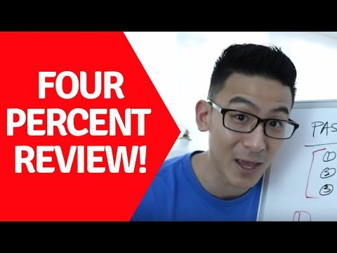 Four Percent Review | A Real Review Of This Program (A MUST Watch!)