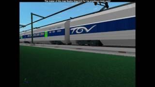ROBLOX TGV Train at Full Speed.